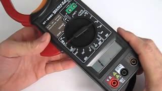 DT266C токовые клещи обзор
