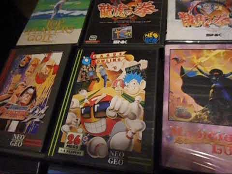 Neo geo memories 8 years later and neo geo aes collection!