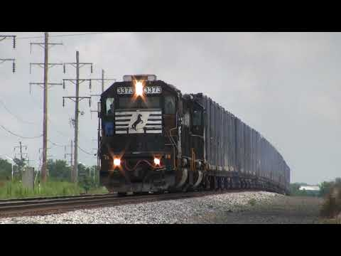 Trains of the Norfolk Southern Harrisburg Line August 2009