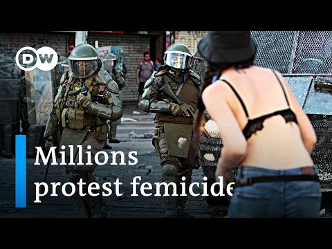 Record feminist marches in Latin America protest femicide | DW News