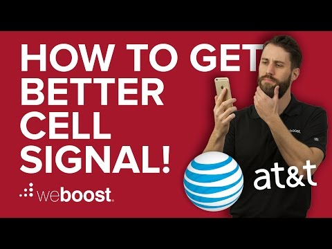 How to Improve & Boost Cell Phone Signal for AT&T | weBoost