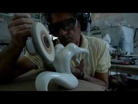 ECSTASY- Estasi Marmo Statuario Design by Emanuele Rubini