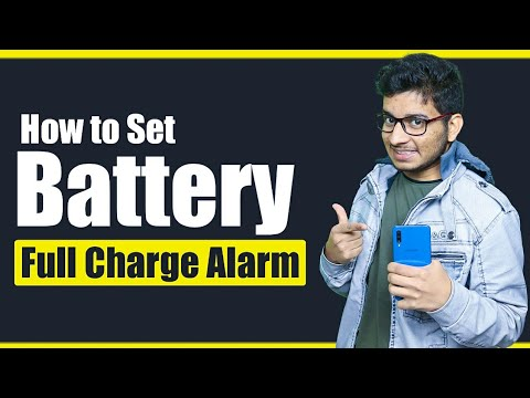 How To Set Full Charge Battery Alarm    Latest Mobile Tips And Trick Video    By Hawasingh