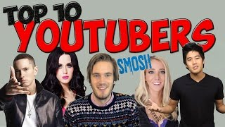 Top 10: Most Subscribed Youtubers Of 2014!