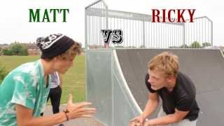 Game Of S.k.a.t.e Mini Ramp,  Matt Vs Ricky