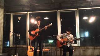 2012.5.9 Acoustic Night at Sports & Music Bar Felix パセリ Left :森...