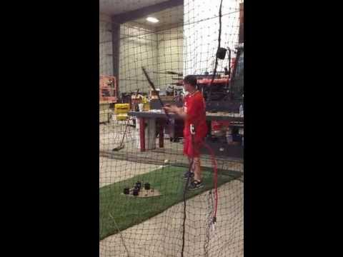 Wyatt Miller Jefferson West High School Hitting video
