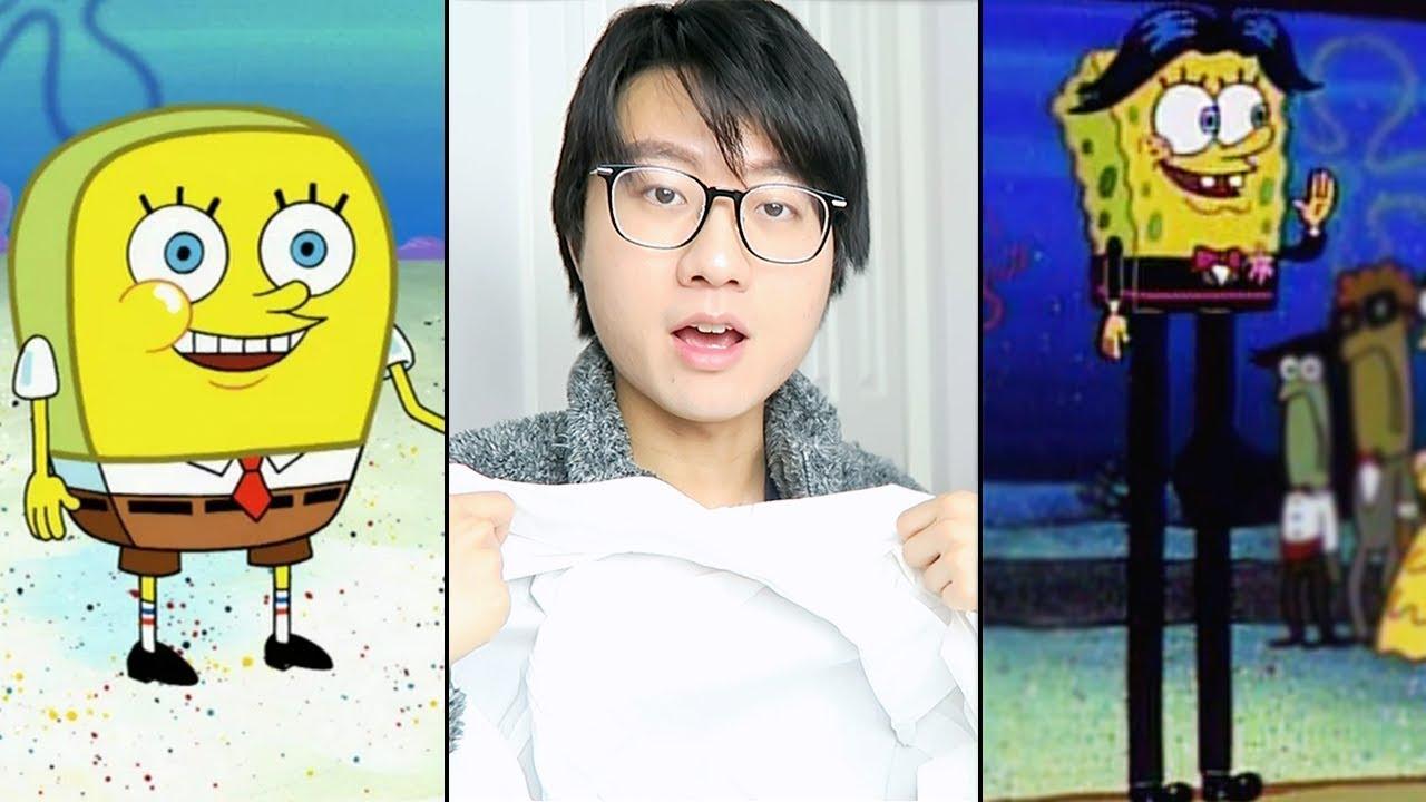 turning memes into halloween costumes (mostly spongebob)