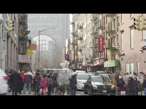 AFP News Agency: Views from New York Chinatown on the Wuhan virus | AFP