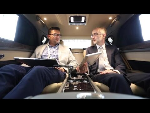 2017 Bentley Mulsanne Extended Wheelbase Rear Seats | Autoblog Short Cuts