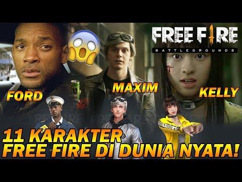 download TERKEJOET!!! 11 CHARACTER FREE FIRE di Dunia NYATA (In REAL LIFE)!!!