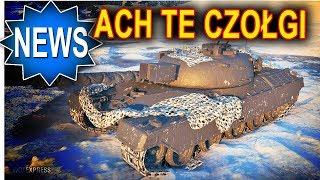Nowe czołgi i jeszcze czołgi - World of Tanks