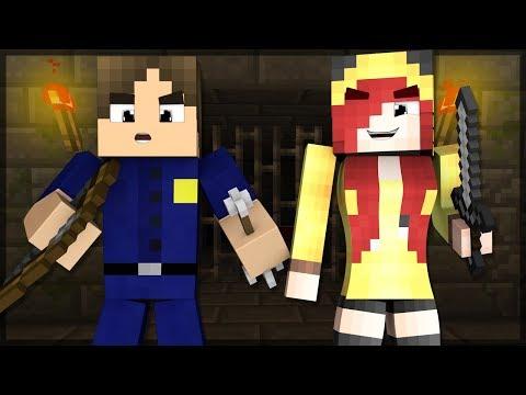 Minecraft: JOGANDO MURDER COM A CHERRY! EU MATEI ELA?!