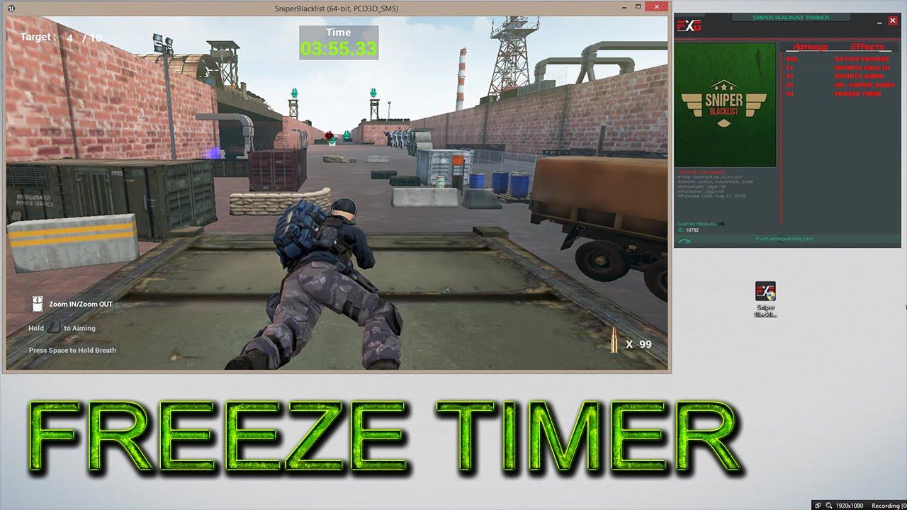 sniper blacklist cheats