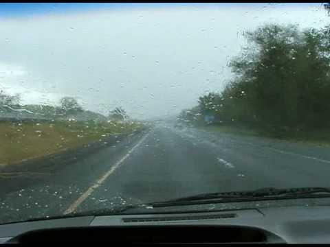 Rainy day drive from Medford to Ashland Oregon - part 1.mpg