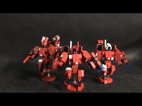 Lego warhammer 40,000 tau battlesuit crisis team MOC