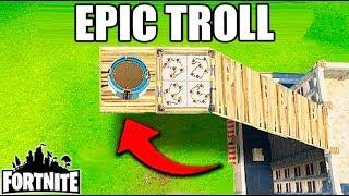 EPIC TROLL EN SALTOS DE LANZAMIENTO!! Fortnite Funny Fails y Momentos de WTF! (Momentos diarios)