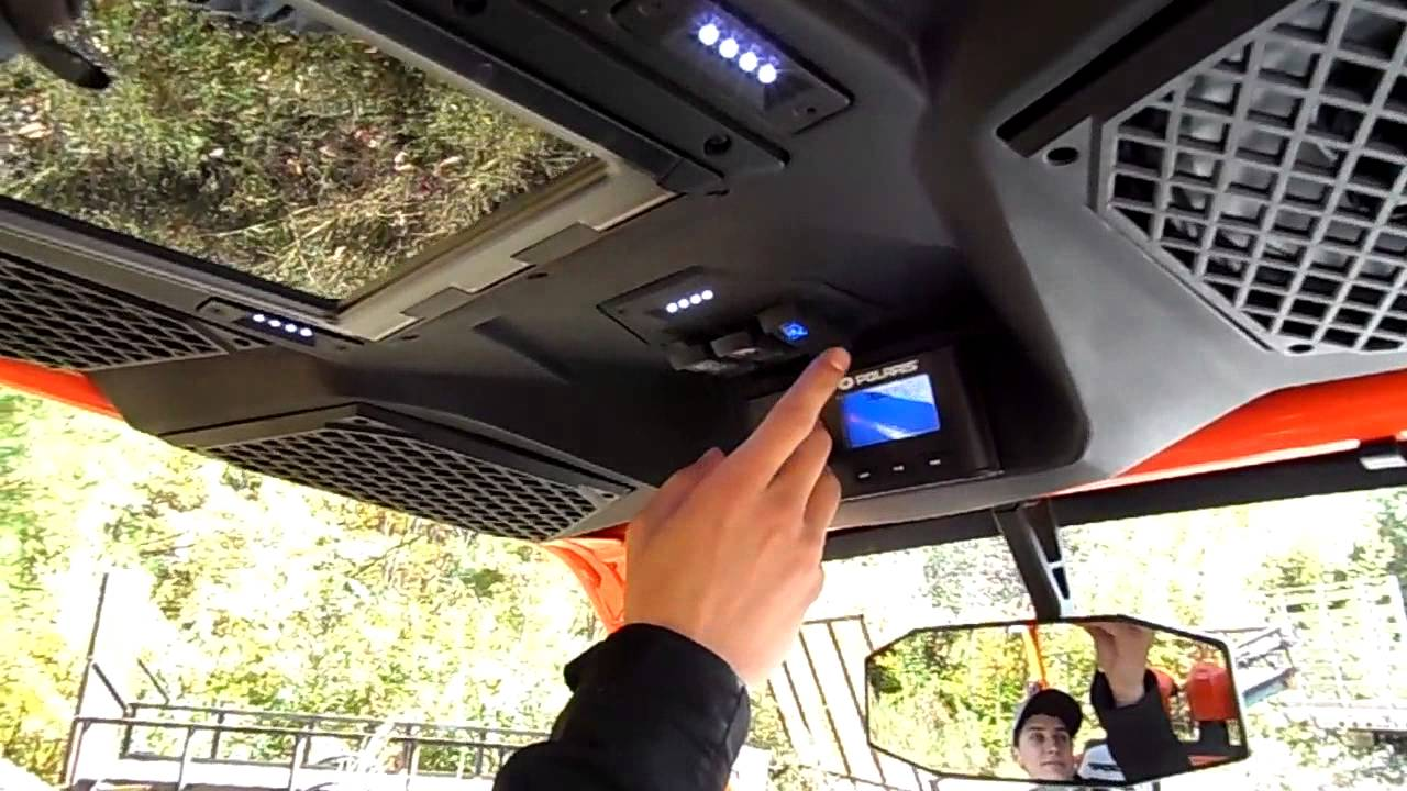 Polaris Ranger Roof Stereo 12 300 About Roof