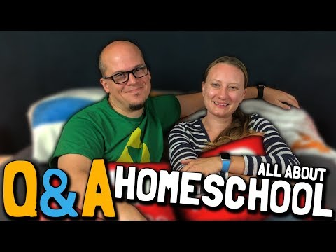 Q&A Episode 6: All About Homeschool (May 14, 2018)