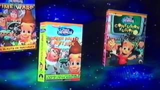 First Version of The Adventures of Jimmy Neutron Boy Genius VHS and DVD Trailer from 2003