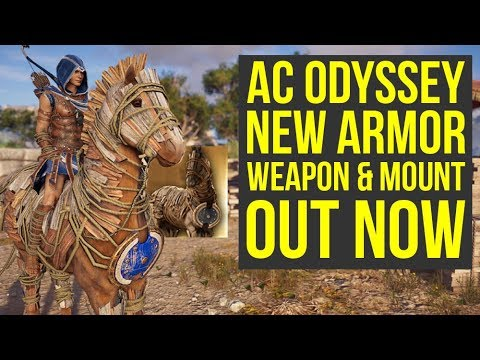 Assassin's Creed Odyssey Odysseus Armor, New Weapon, Mount, Live Event & More (AC Odyssey Odysseus) thumbnail