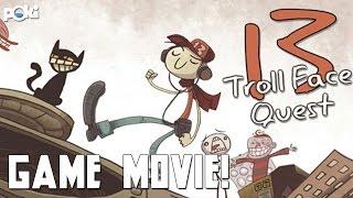 Game Movie! Troll Face Quest 13, Poki Walkthrough