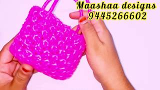 Mini Amla knot basket for beginners very easy clear tutorial part 1/2