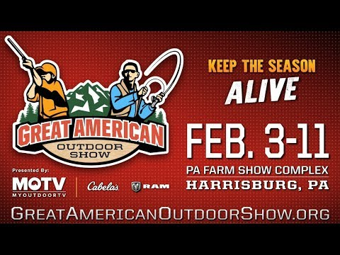 The Great American Outdoor Show Returns In 2018!