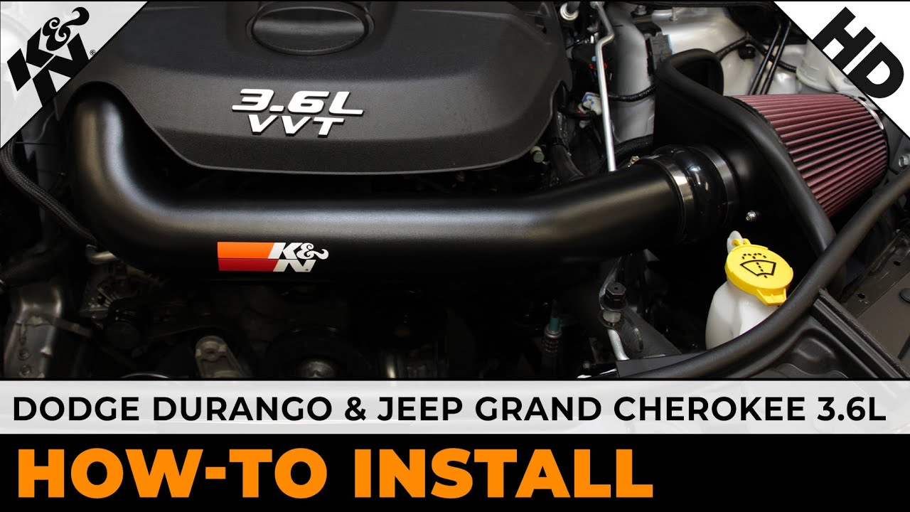 K/&N Perf Intake for JEEP GRAND CHEROKEE 3.6L-V6 77-1560KTK DODGE DURANGO