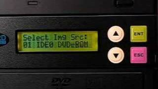 DVD Duplicator Demo Load Master into HardDrive