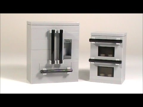tutorial lego french door and double oven
