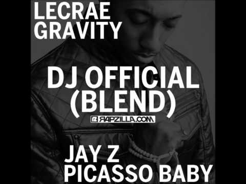 Lecrae - Gravity (DJ Official -Jay- Z -Picasso Baby Blend) [FREE DOWNLOAD]