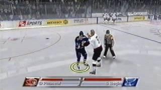 Dion Phaneuf vs Steve Begin - NHL 2k7 Fight
