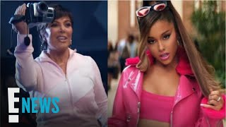Ariana Grande Drops Music Video With Kris Jenner Cameo | E! News