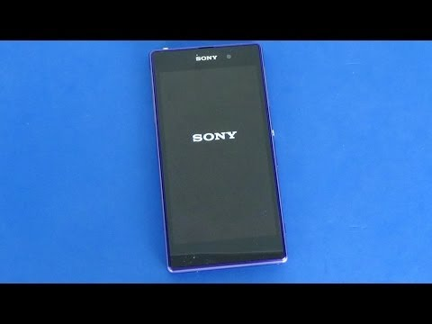 Sony Xperia Z1 - Screenshot & hard reset