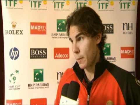 Davis Cup Interview: Rafael Nadal