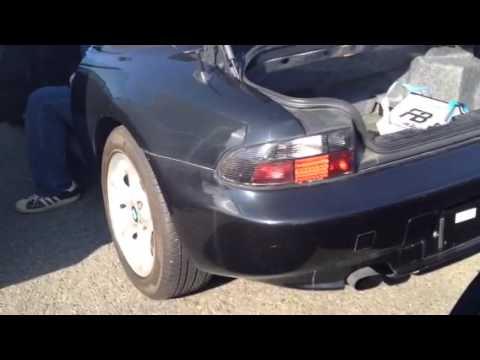 1997 bmw z3 roadstar black wbach71030la29519 black bmw z3 1997
