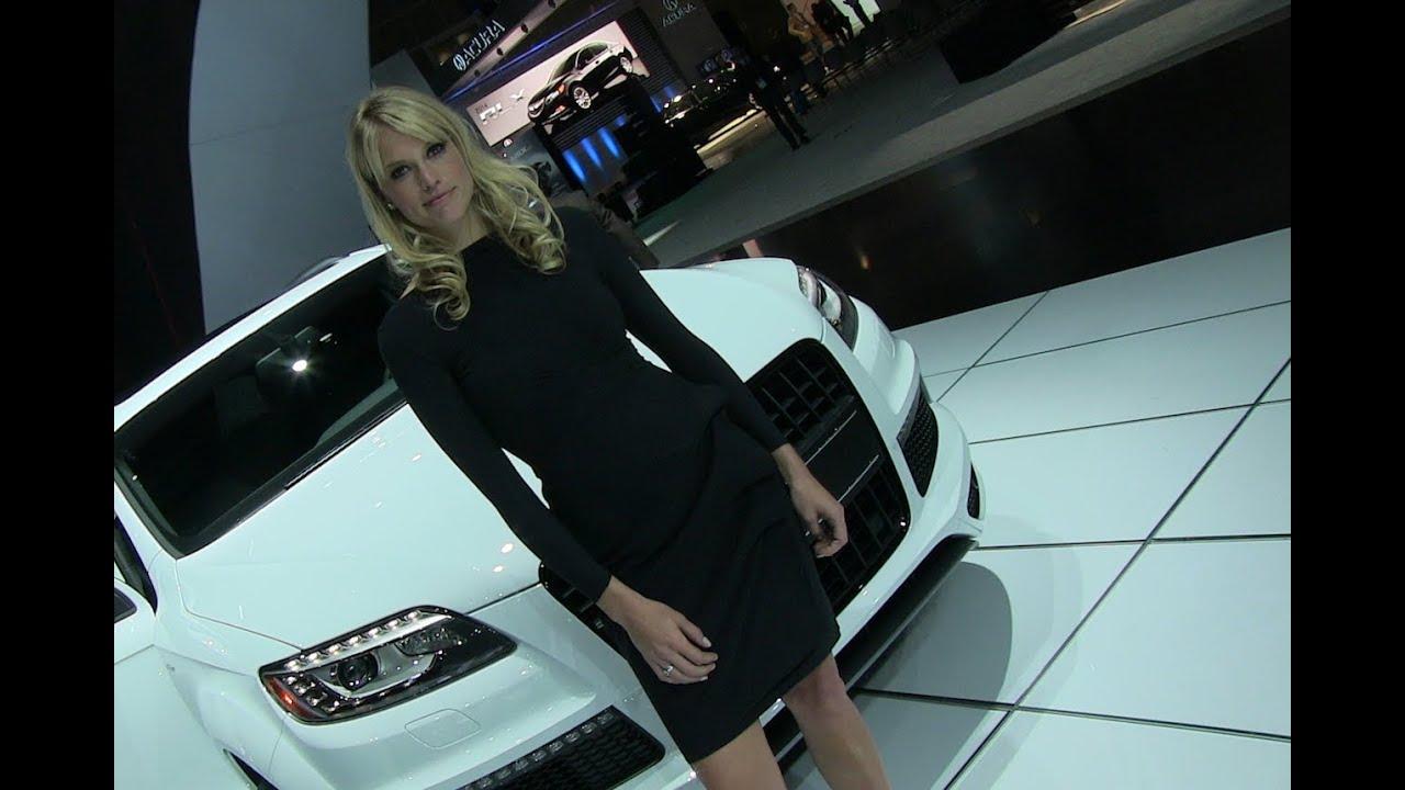 Sexy women cars