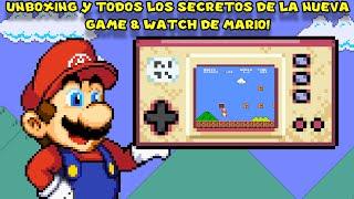 Unboxing y TODOS LOS SECRETOS de la Nueva Game & Watch de Mario - Pepe el Mago