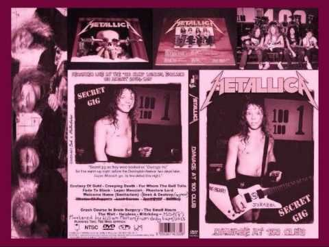 METALLICA Remastered Bootleg: THE GIG THAT SHOULD NOT BE? (1987) - Live  debut of LEPER MESSIAH!