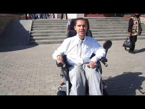 Брацо в Алексеевке. 15.09.2013. плюс проверка пандуса в ДК Солнечный
