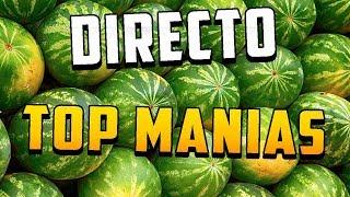 Emisión en directo de Top Manias
