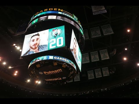 Gordon Hayward Addresses the Boston Celtics Home Crowd | October 18, 2017