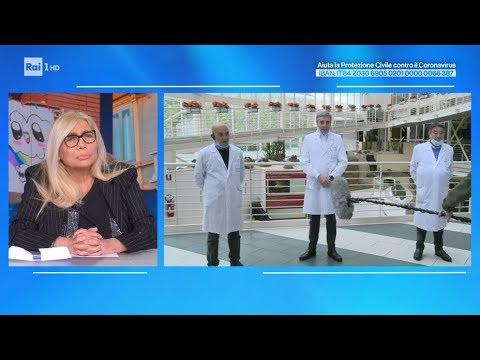 Il professor Luca Richeldi in collegamento dal Gemelli - Domenica in 22/03/2020