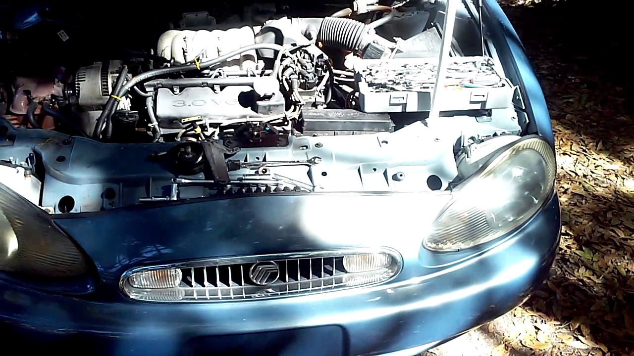 1999 3 0 Mercury Sable Coolant Leak Behind Alternator