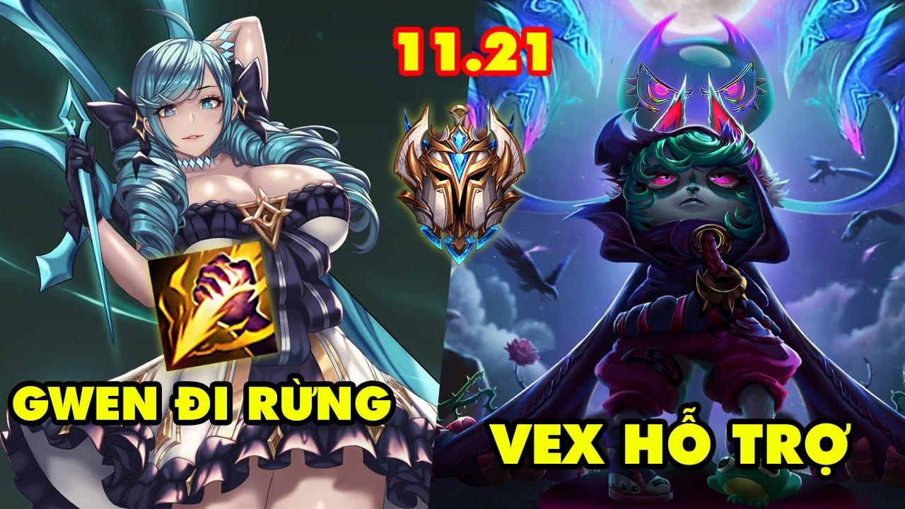 Download TOP 7 lối chơi Bá Đạo của Thách Đấu Hàn trong LMHT 11.21: Gwen Đi Rừng, Vex Hỗ Trợ