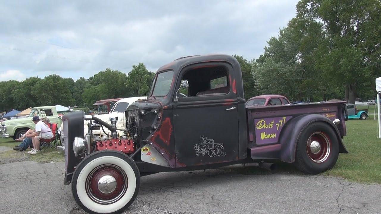 1940 Ford Rat Rod Truck - 2015 Hot Rod Reunion - YouTube