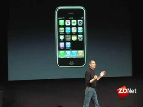 Jobs unveils iPhone App Store