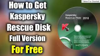 ★KASPERSKY RESCUE DISK WON\'T BOOT - HOW TO: CREATE A KASPERSKY RESCUE DISK 10 BOOTABLE USB★