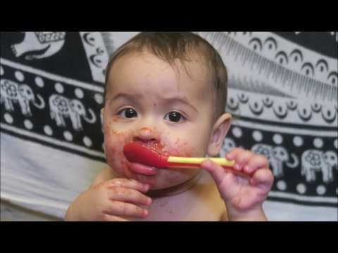 Бонус Раде 10 Месяцев!! Самое полезное питание для детей рецепт. Любимая еда Рады + Переезд